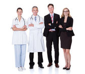 Professional Hospital Staff — Stock Photo
