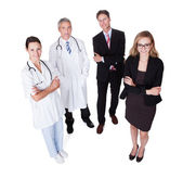 Professional Hospital Staff — Stockfoto