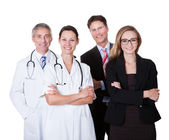 Professionell sjukhuspersonal — Stockfoto