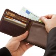 Man making a cash payment — Stock Photo #18926393