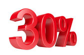 30 Percent Sale Discount — Stock Photo