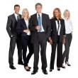 Stock Photo: Successful business team standing