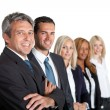 Business colleagues standing — Stock Photo