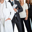 Group of with different occupations — Stock Photo #19638155