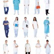Foto Stock: Medical workers, doctors, nurses