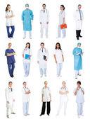 Medical workers, doctors, nurses — Stock Photo