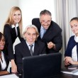 Group of business in a meeting — Stock Photo #19925827