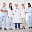Stock Photo: Successful happy group of doctors