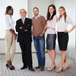 Diverse business group standing together — Stock Photo