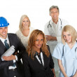Group of in different professions — Stock Photo #19926273