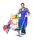 Professional cleaning service — Stock Photo