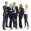 Stock Photo: Group of successful businesspeople