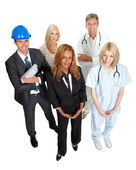 Illustrating different career options — Stock Photo