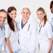 Portrait smiling doctors and colleagues — Stock Photo #21241371