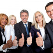 Smiling group of businesspeople — Stock Photo #21240735