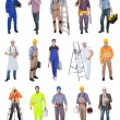 Industrial construction workers — Stockfoto