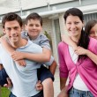 Playful young family enjoying together — Stock Photo #21241079