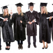 Group of graduate students - Stock Photo