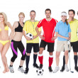 Large group of sports — Stock Photo #21241227
