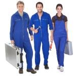 Group of automechanic — Stock Photo