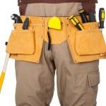 Portrait of construction worker — Stock Photo