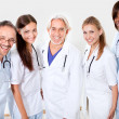 Portrait smiling doctors and colleagues — Stock Photo