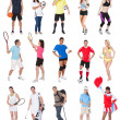 Stock Photo: Various sports