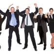 Group of excited business — Stock Photo #21241805