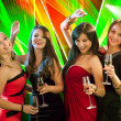 Stylish women toasting with champagne — Stock Photo #21616611