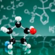 Model of molecular structure — Stock Photo #21727951