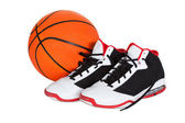 Pair of basketball shoes — Stock Photo