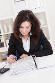 Photo Of Accountant Woman — Stock Photo