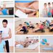 Fitness set - Stock Photo