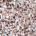 大型组的各项业务图像 — 图库照片