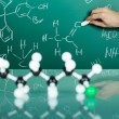 Model of molecular structure — Stockfoto