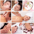Collection of spa images - Stockfoto