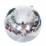 Close-up Of A Disco Ball — Stock Photo