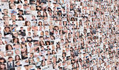 Large set of various business images — Stock Photo