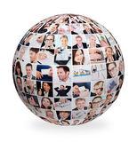 Amplio conjunto de varias imágenes de negocios — Foto de Stock