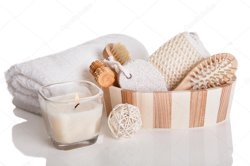 bath spa massage kit stock photo andreypopov 22741353