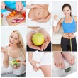 Diet set — Stock Photo
