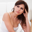 Young Stressed Woman — Stock Photo