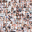 Large set of various business images — Stockfoto