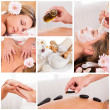 Royalty-Free Stock Photo: Collection of spa images