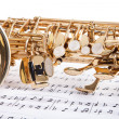 Close-up Of Trumpet — Stock Photo