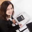 Portrait Of Happy Businesswoman — Stock Photo