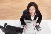 Photo Of Accountant Woman — Stock Photo