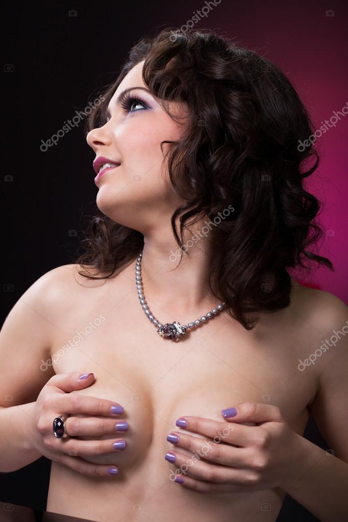 Womens breast photo