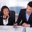Two Business In Office — Stock Photo