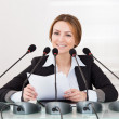 Businesswoman In Conference — Stock Photo #24592423